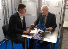 Деловые переговоры на выставке ВоронежBuild.