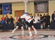Все схватки турнира проходили в упорной борьбе