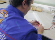 Производство светодиодных светильников Good Light: пайка светодиодов