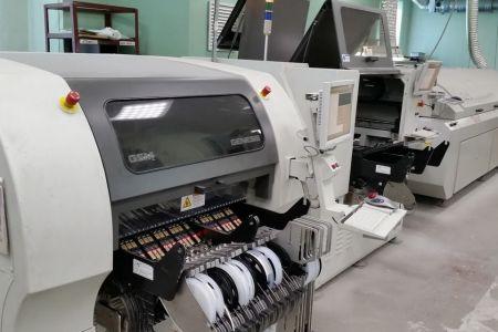 Современная высокотехнологичная линия поверхностного монтажа печатных плат позволяет обеспечить высокую производительность и качество конечных изделий на самом современном уровне